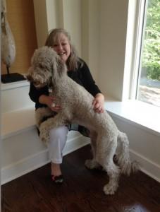 Pamela Grossman and her Service Dog Milo